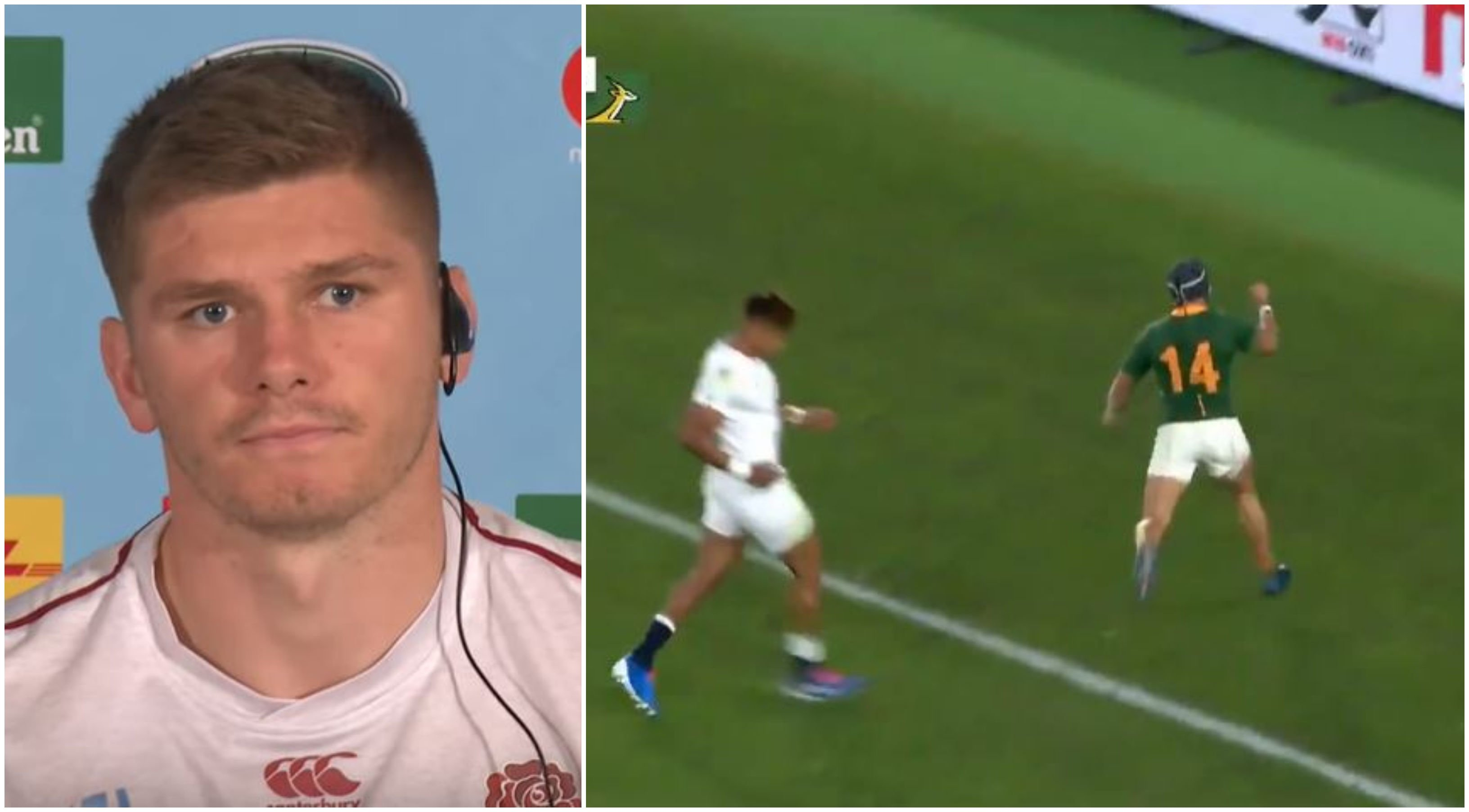 FOOTAGE: Cheslin Kolbe should be charged with manslaughter after ending Owen Farrell