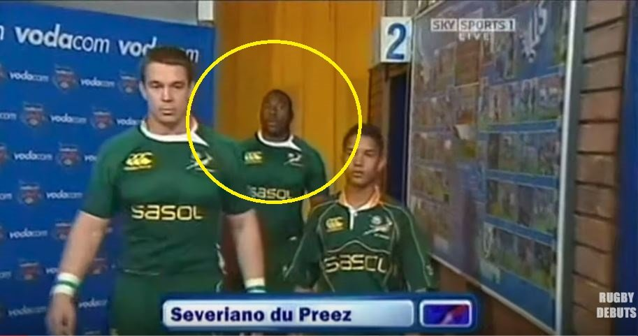 FOOTAGE: 'The Beast' Mtawarira makes Test debut against Wales in 2008