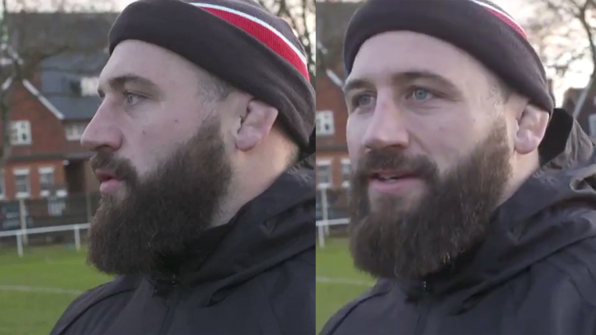 Joe Marler has just gone full weirdo and someone was there to film it