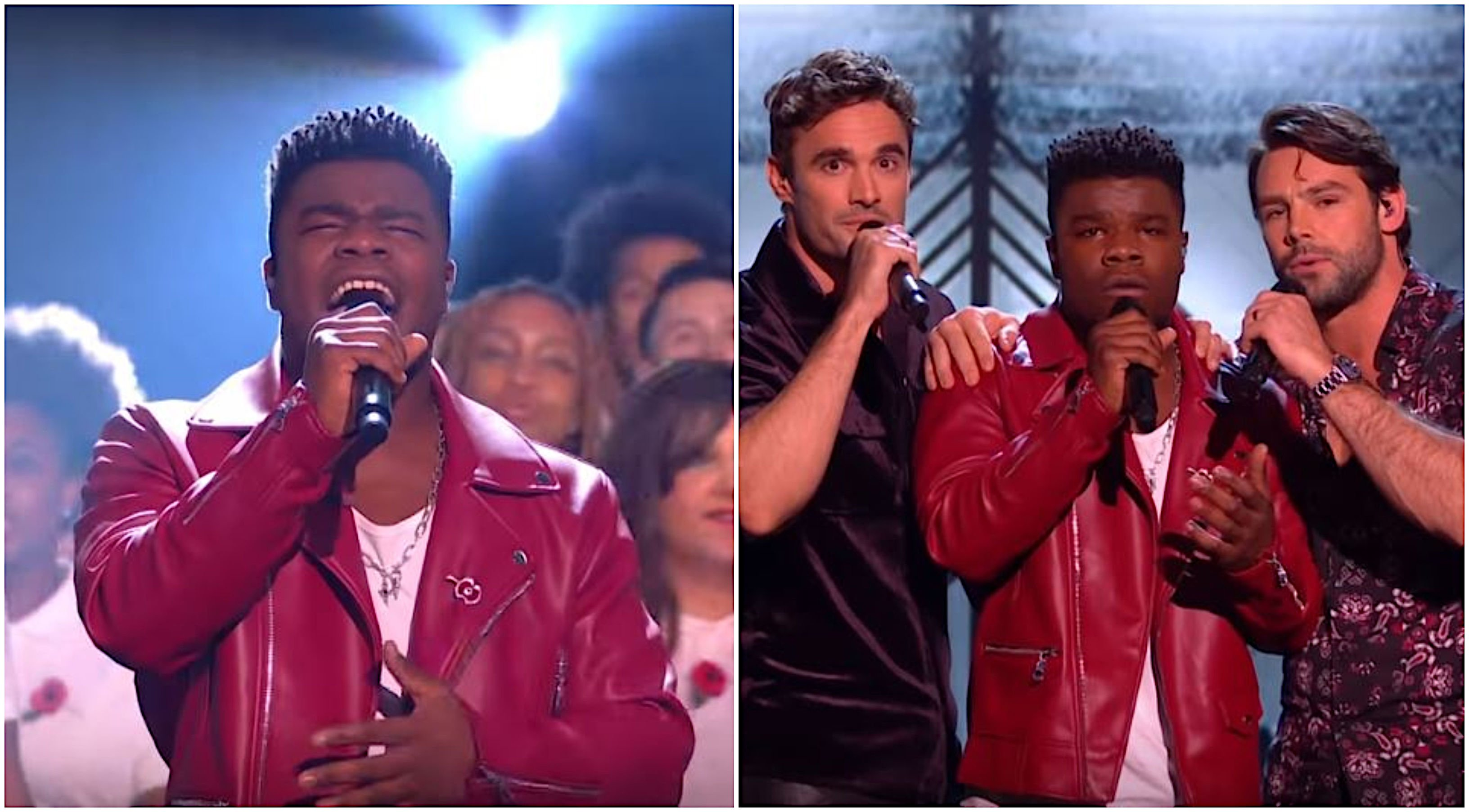 Ben Foden needs a HIA after performing 'Sweet Chariot' monstrosity on X Factor