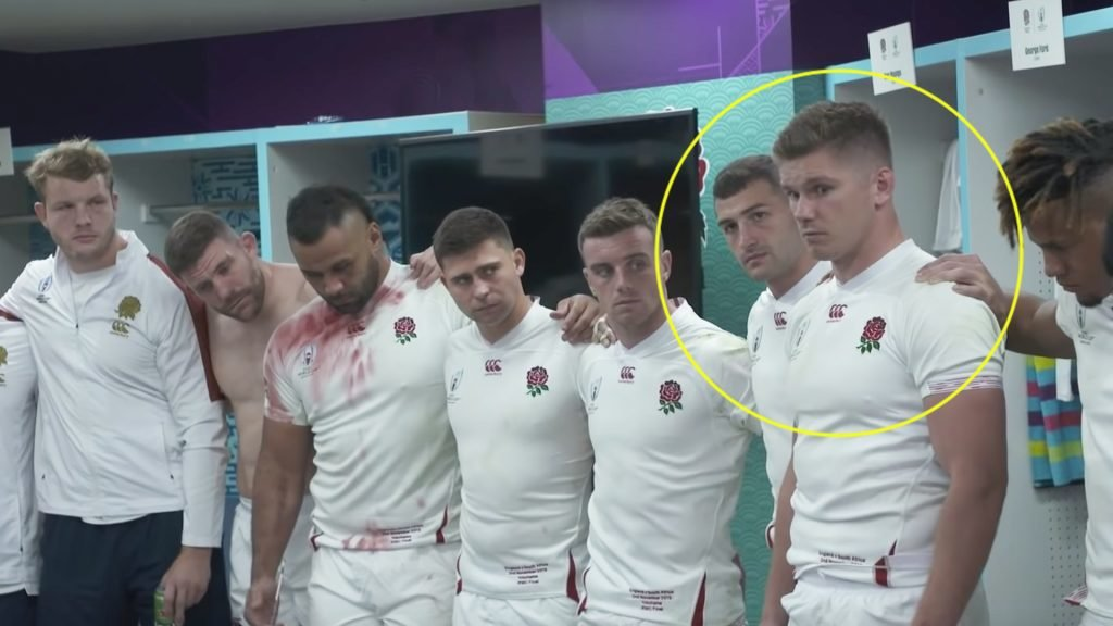 The horrendous atmosphere in the England changing room after their World Cup final loss