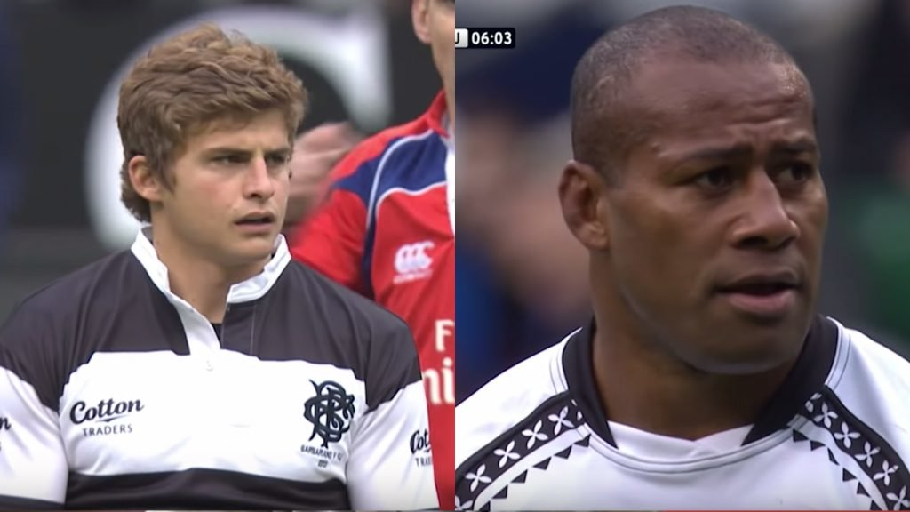 The time the Barbarians and their wacky rugby took on Fiji and their flair