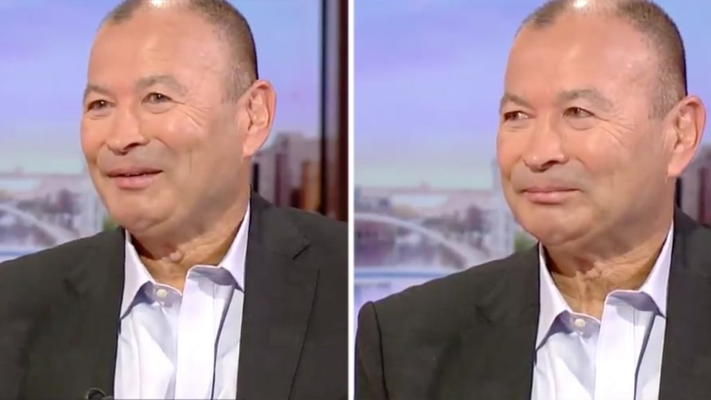 An emotional Eddie Jones appears on BBC Breakfast after World Cup