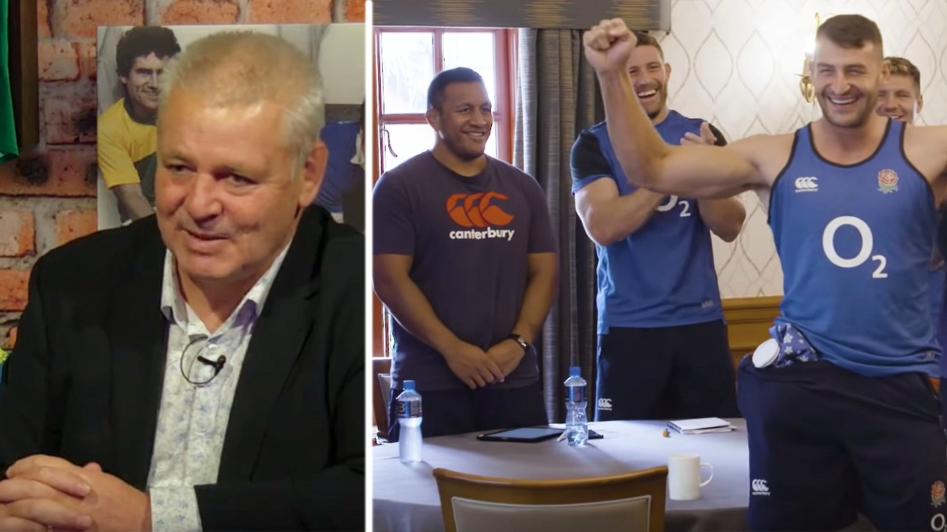 Warren Gatland names three England forwards as surprise options to be Lions captain in English-dominated team