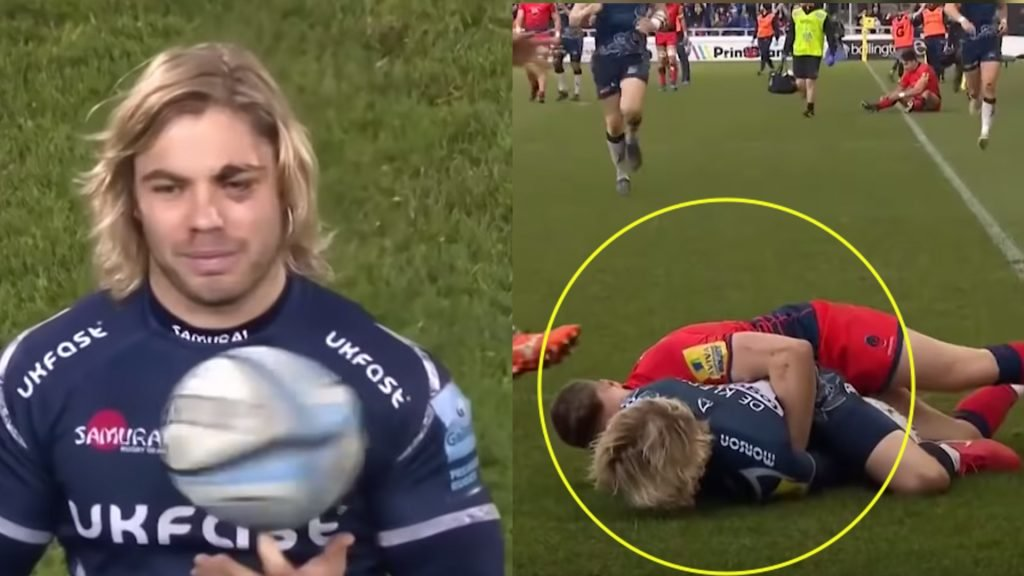 Who knew a video could make Faf de Klerk so intimidating - Terrifying new highlight reel