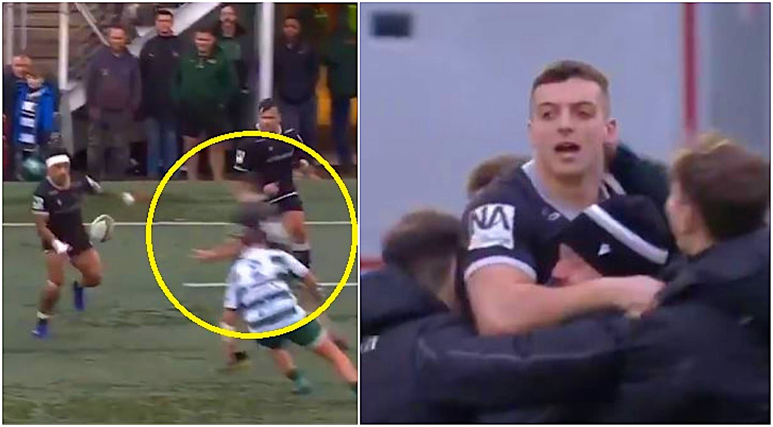'Oh wow' - Newcastle Falcons flyer's 55m solo worldie defies physics