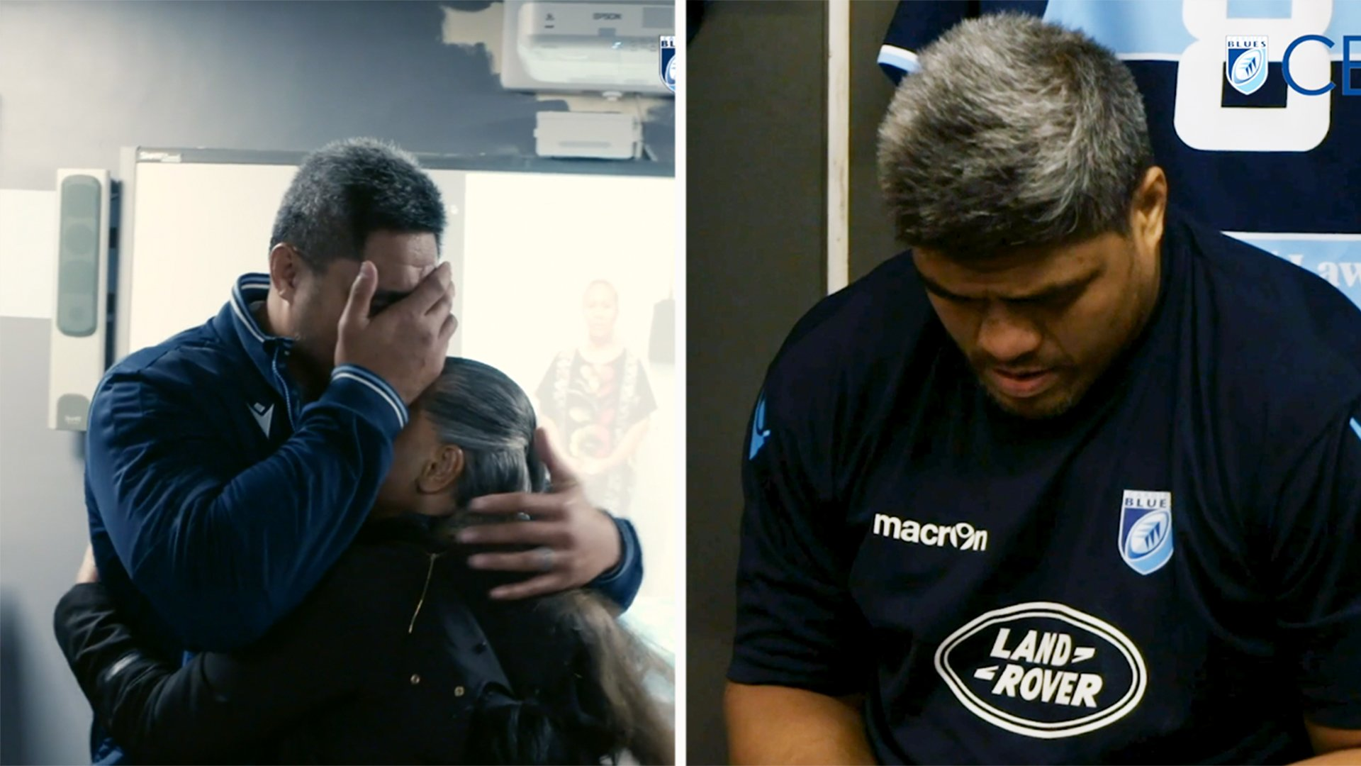 Cardiff Blues have officially won Christmas with this simple gesture to one of their players
