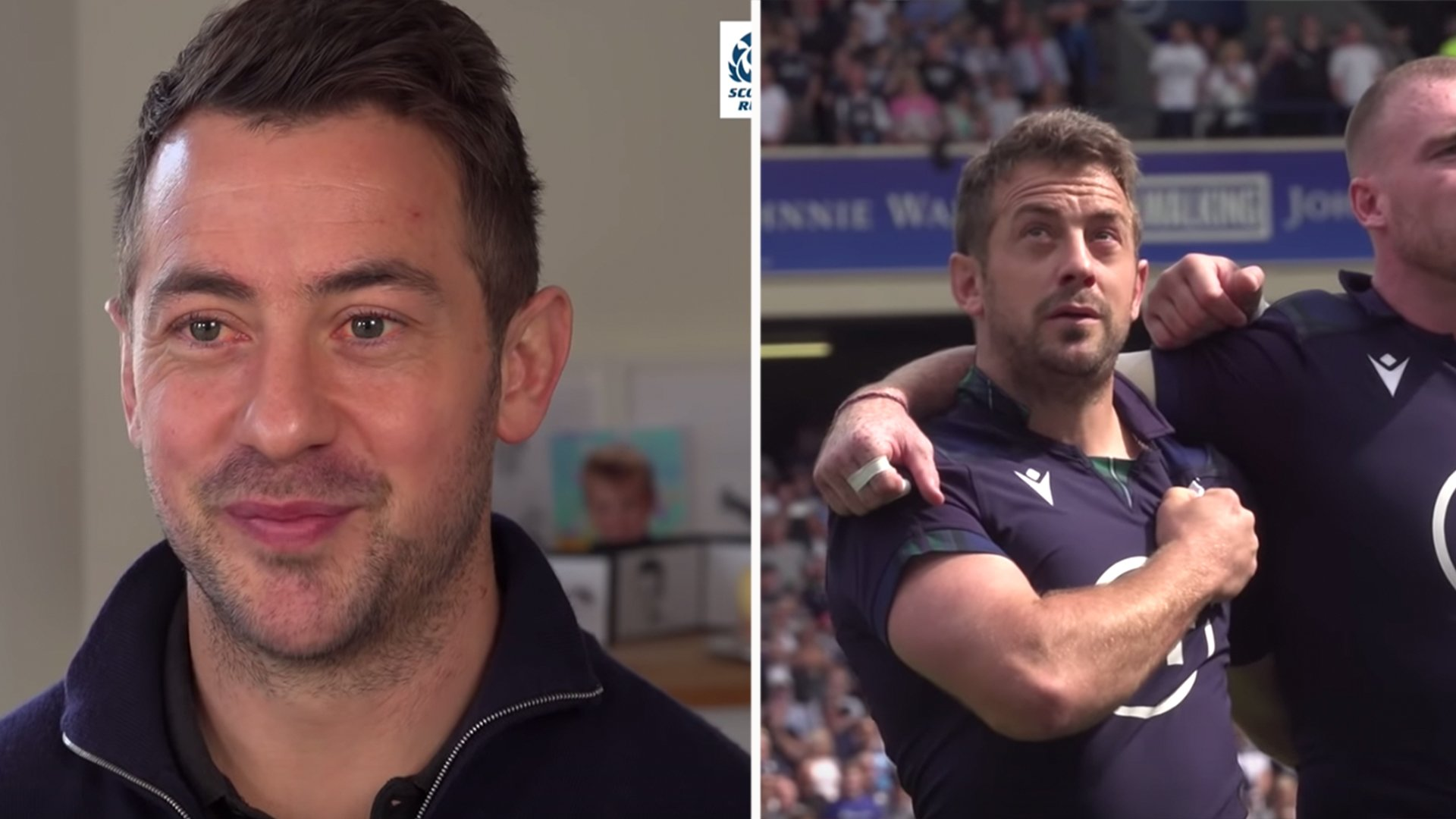 Scotland release a surprisingly emotional tribute to retiring International Greig Laidlaw