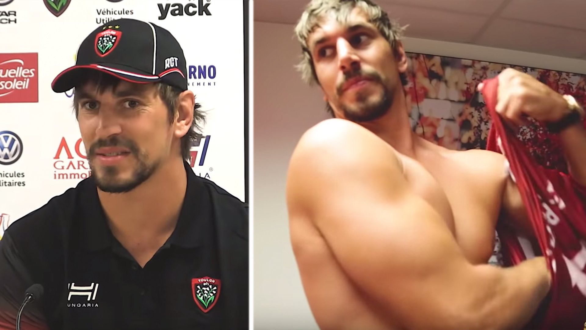 The epic Eben Etzebeth Toulon unveiling video is what you'd expect from a football star