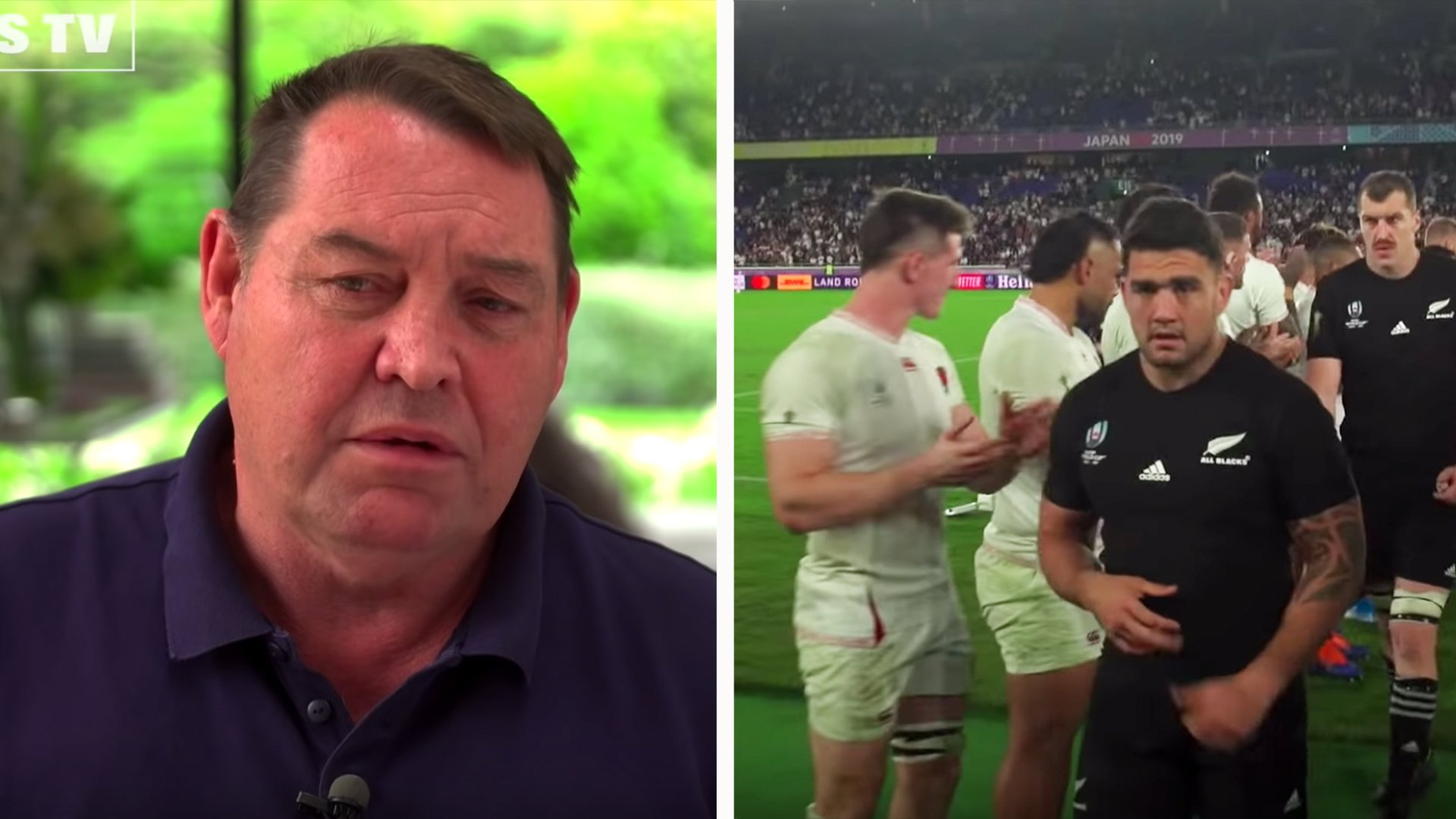 This frank Steve Hansen interview about England loss, is the reason why All Blacks will dominate rugby for next 4 years