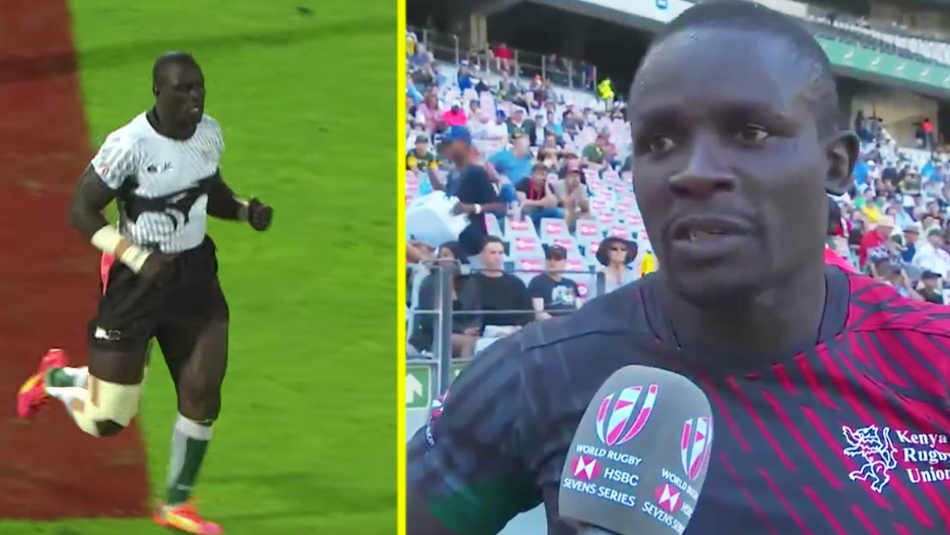 The Kenyan sevens team this year is absolutely MASSIVE and people are raving about it