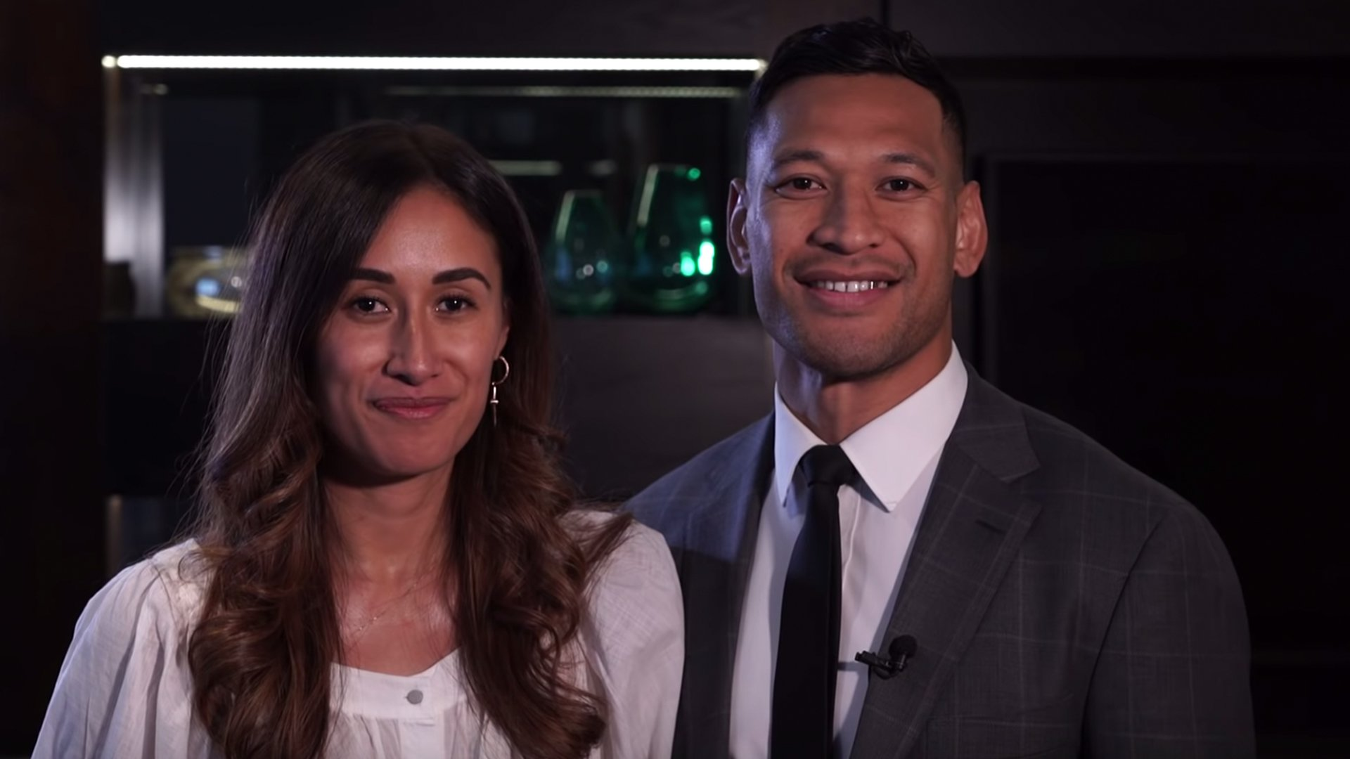 Here's the video statement that Israel Folau made after he got his apology and settlement from Rugby Australia