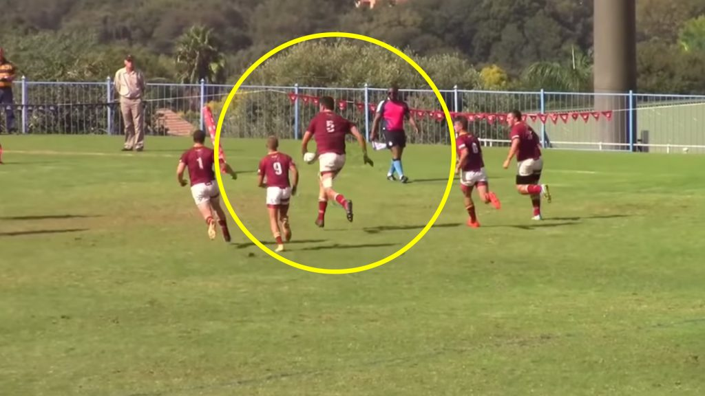 Massive 6'8 teenager is going viral with his destructive highlight reel