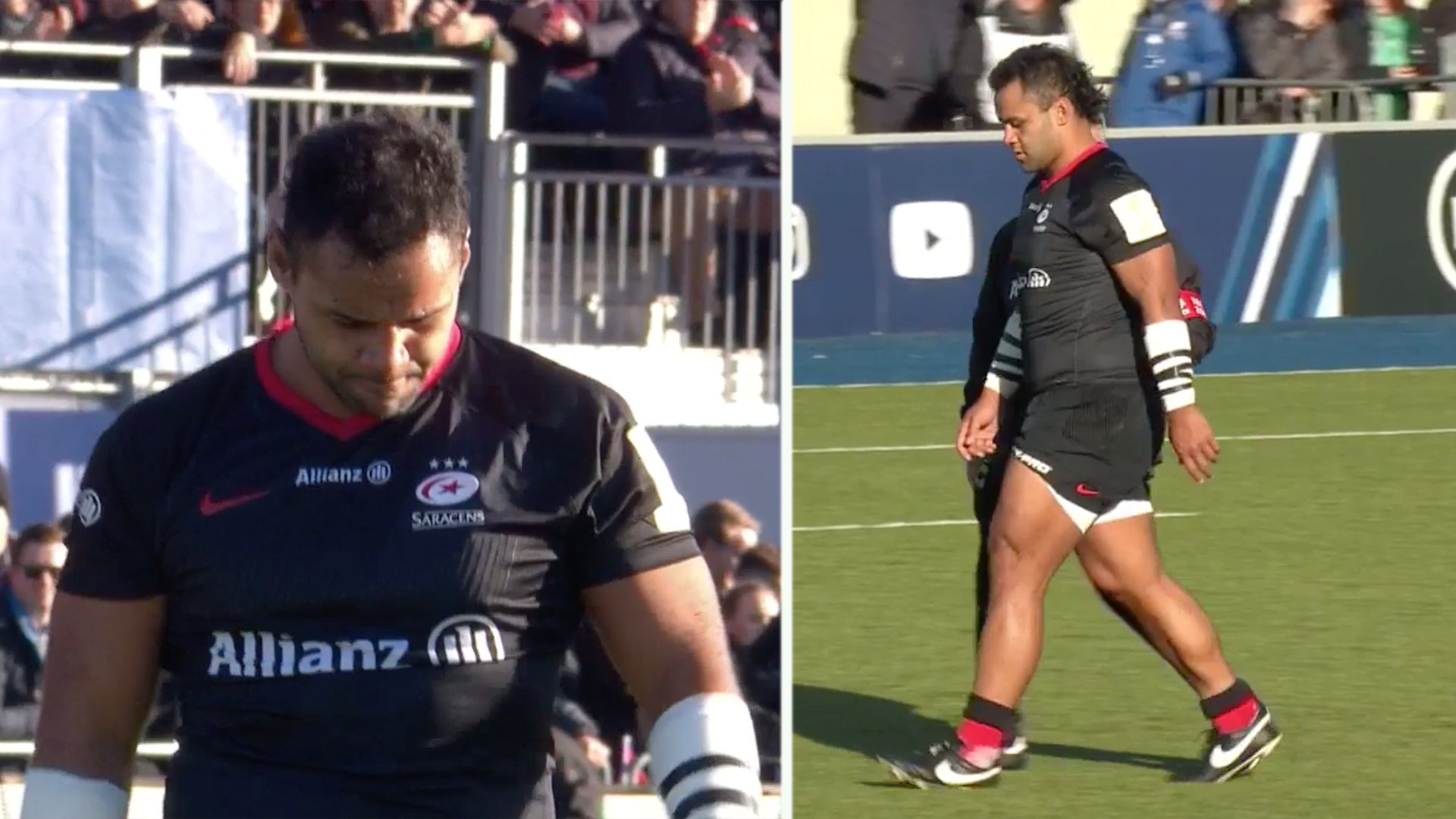 Disaster for England as Billy Vunipola will miss Six Nations