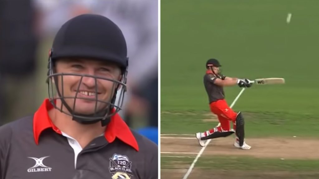 People can't get over how good Beauden Barrett is at cricket