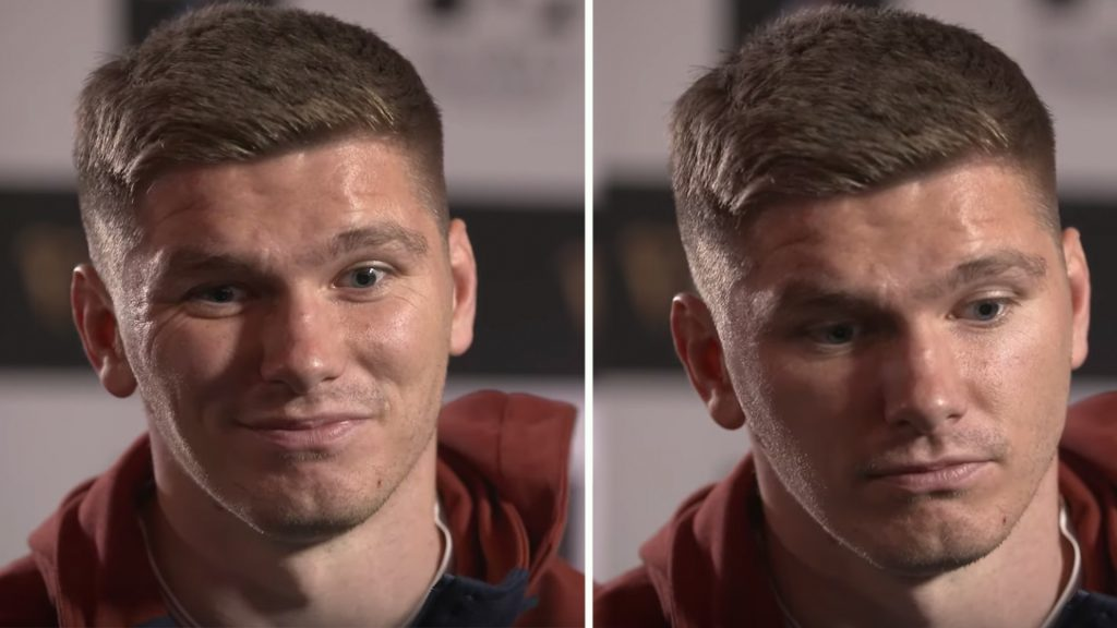 Owen Farrell interview takes awkward turn when his father is mentioned by interviewer