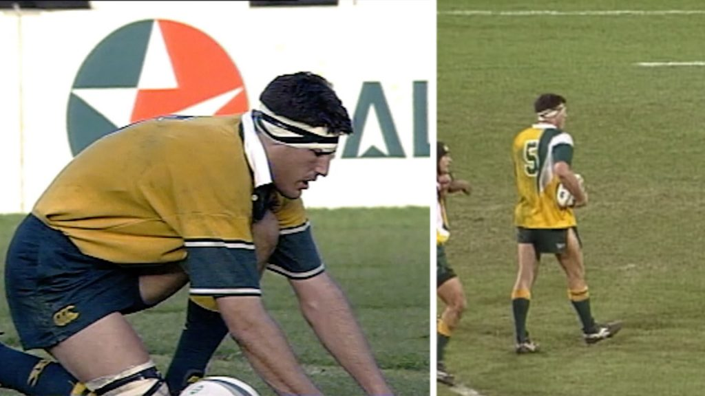 The time a forward was trusted to kick a match-winning penalty in a rugby match