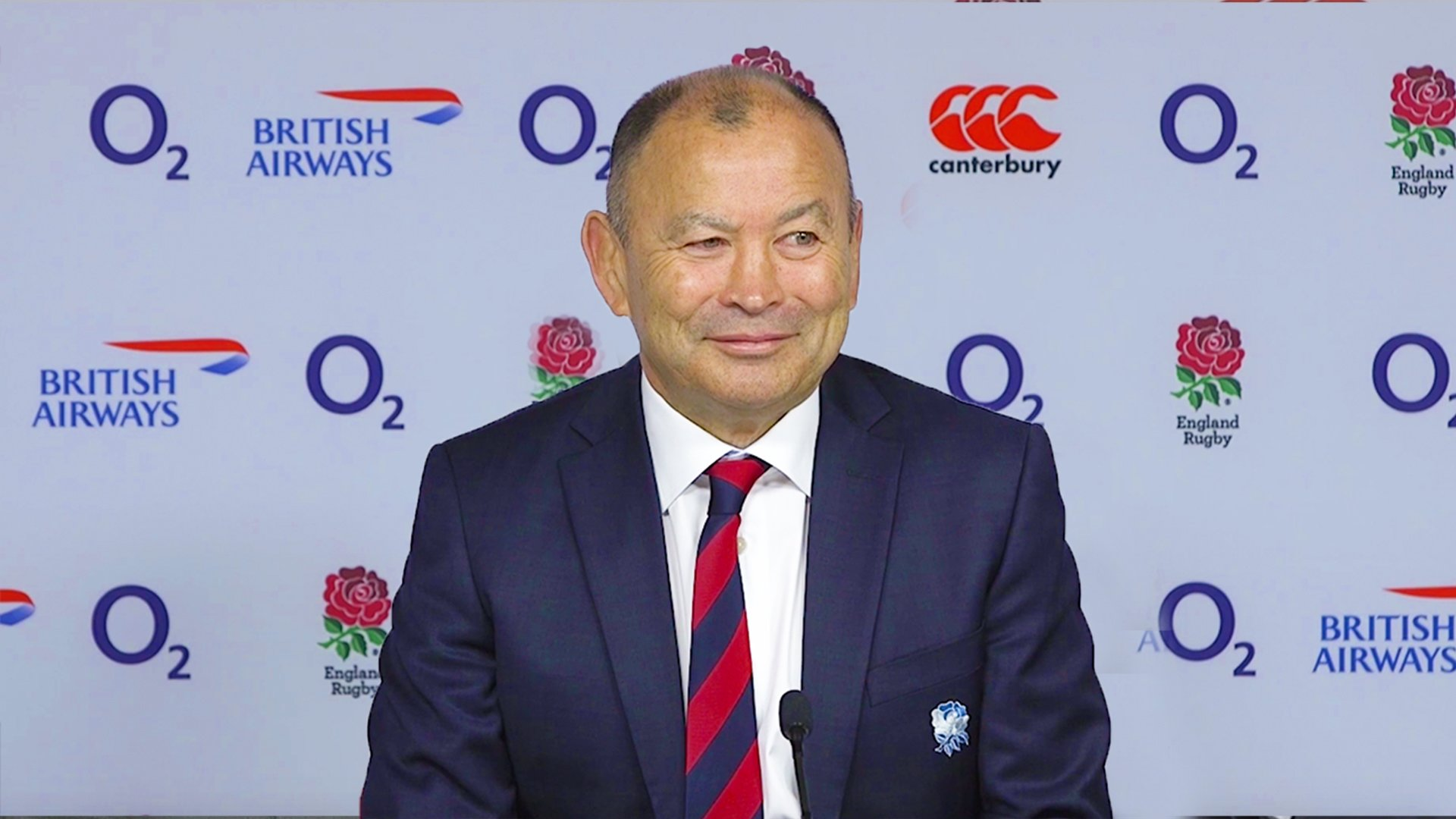 Eddie Jones gives England outrageous and unrealistic target in first Six Nations press conference