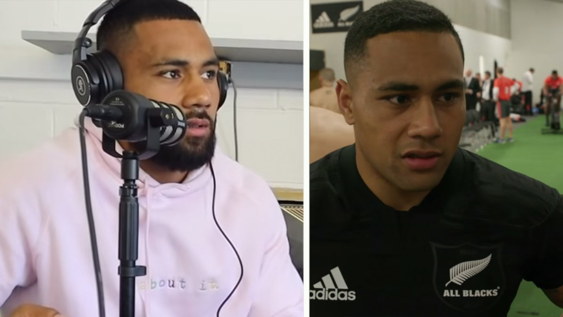 A visibly upset Ngani Laumape opens up on All Black World Cup rejection for first time - Rugby OnSlaught