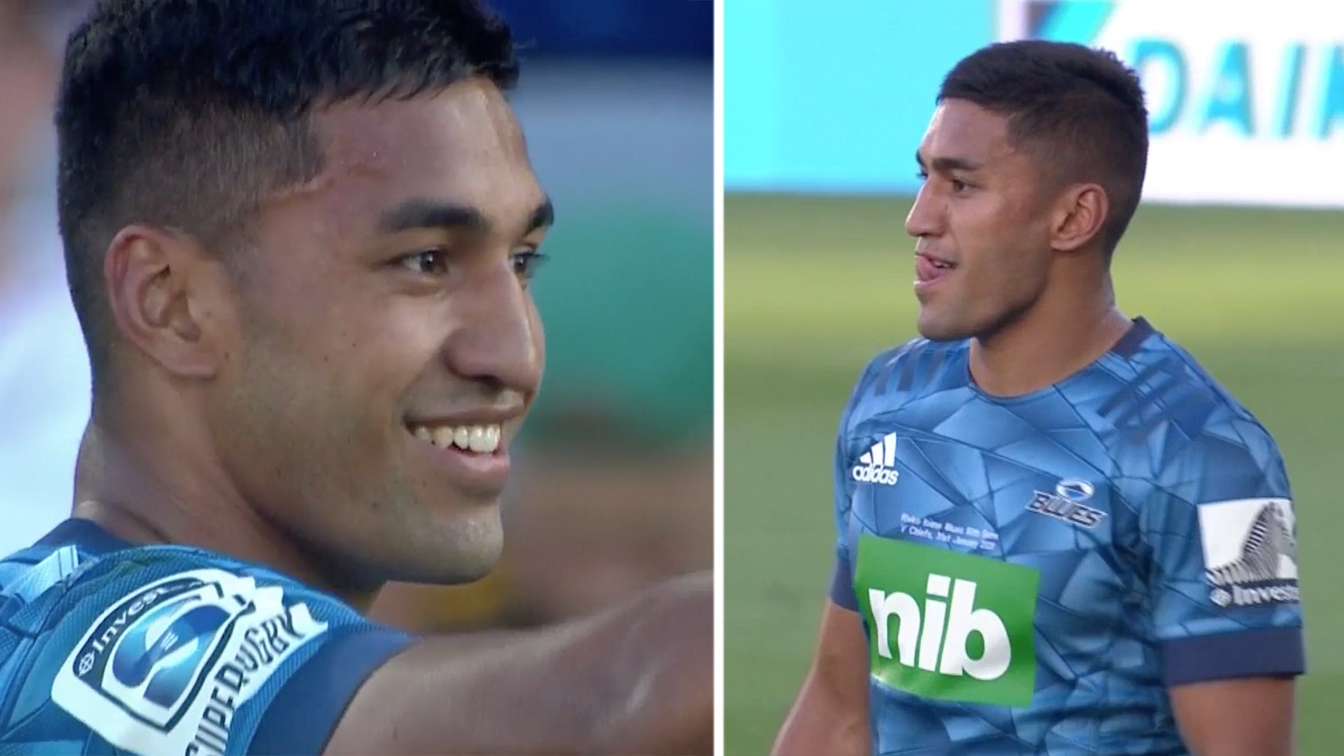 A noticeably leaner Rieko Ioane reminded the Rugby World why he should have been selected in World Cup