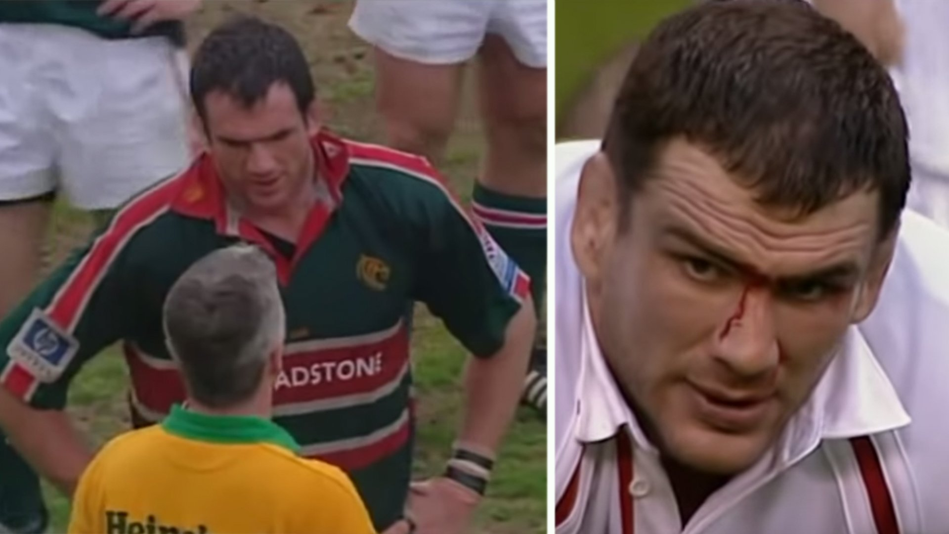Video lays claim that legendary England captain Martin Johnson was the dirtiest player in rugby