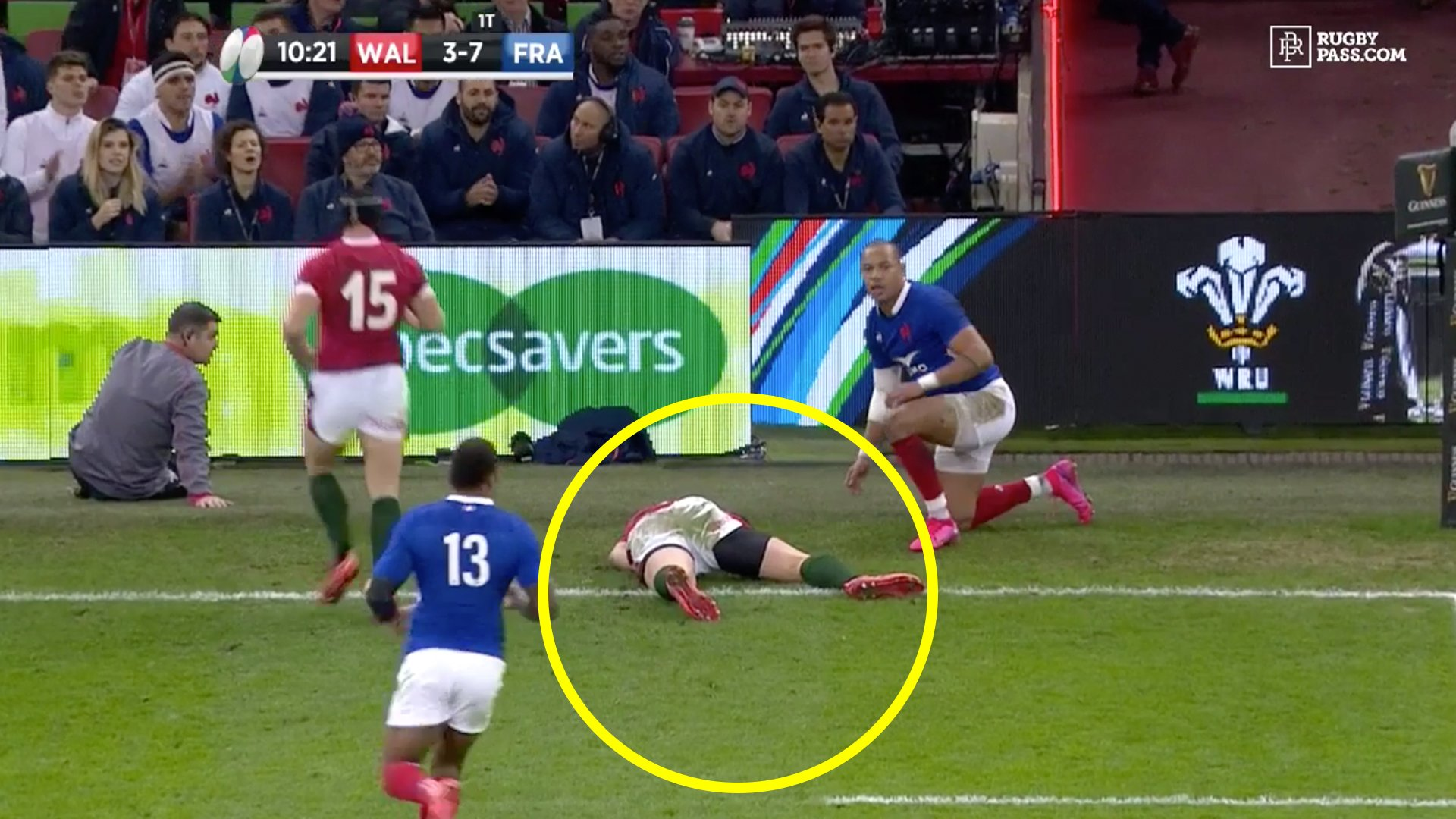 George North suffers another sickening concussion knock out in Six Nations