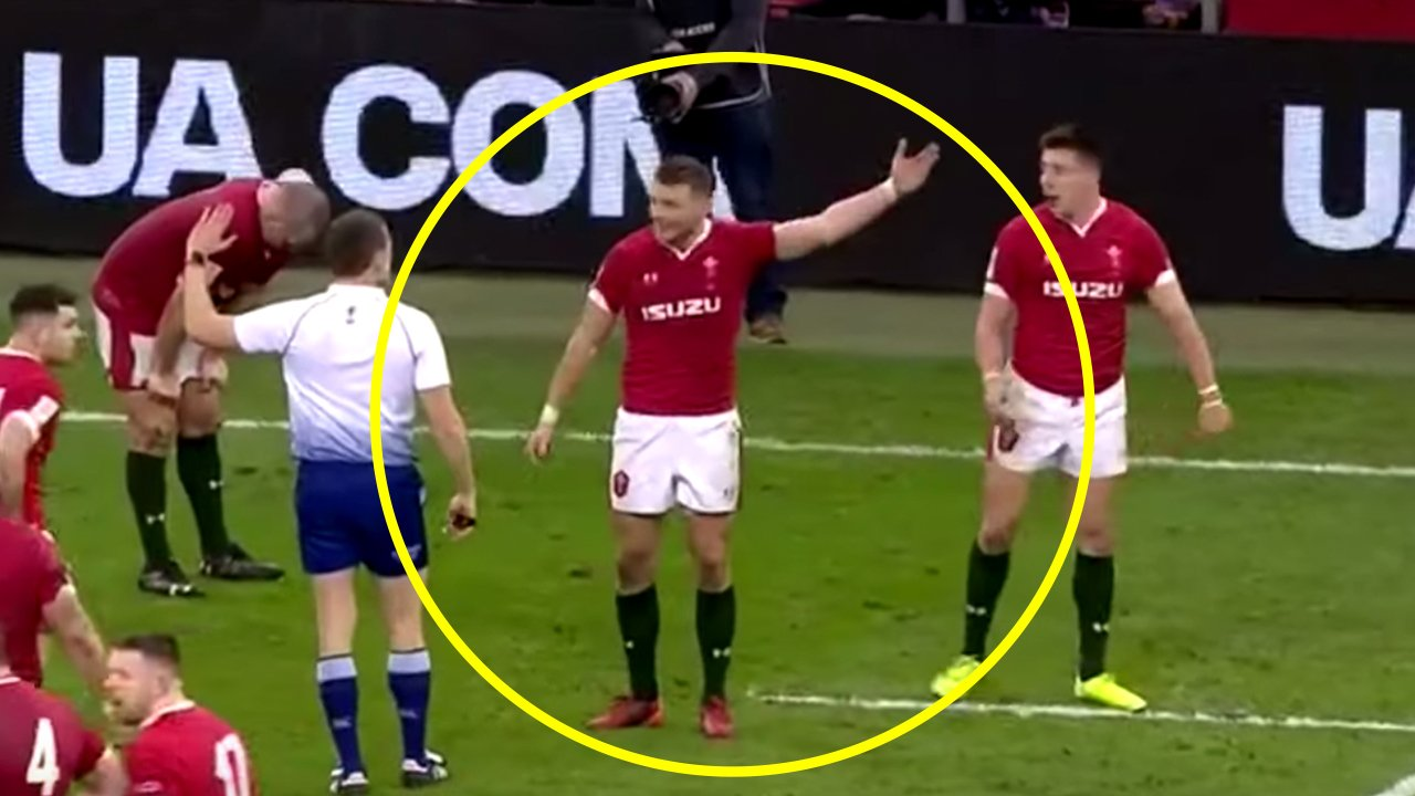 Video hilariously ridicules Dan Biggar for his constant whining - Rugby OnSlaught