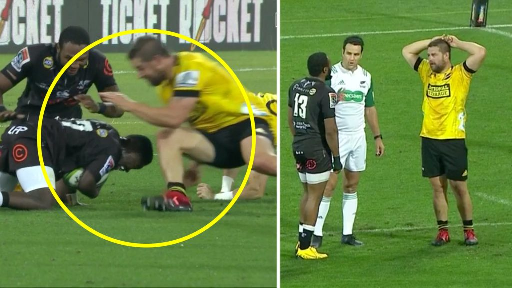 Rugby fans fuming as Dane Coles gets away with horrendous cheap shot in Super Rugby
