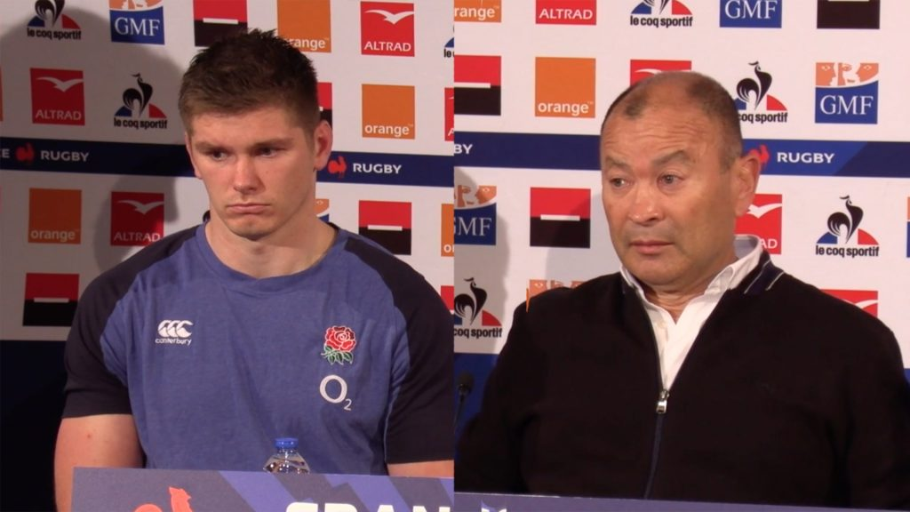 Eddie Jones and Owen Farrell give one of the most depressing post match press conferences ever