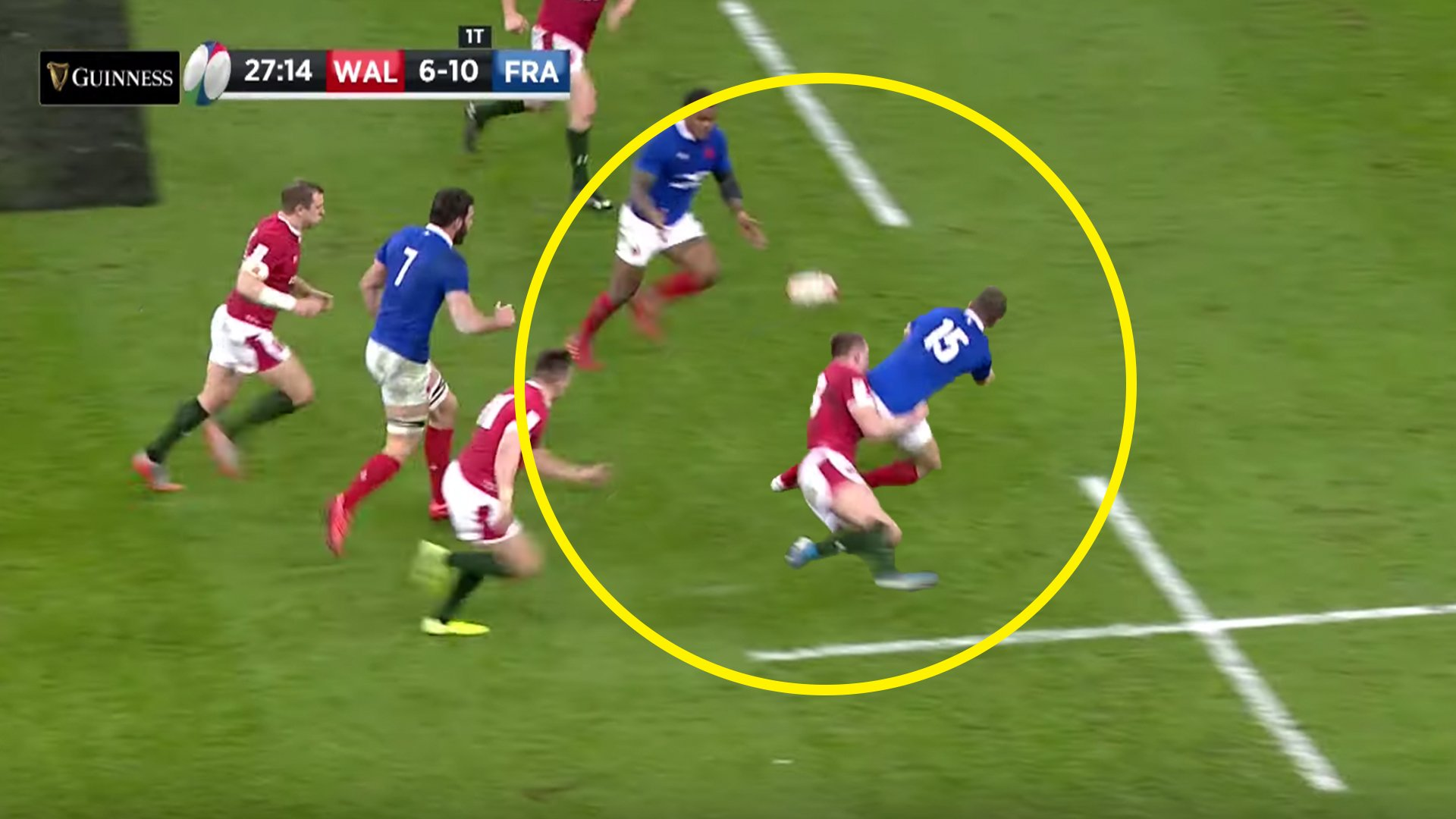 New angle proves Bouthier pass WASN'T forward