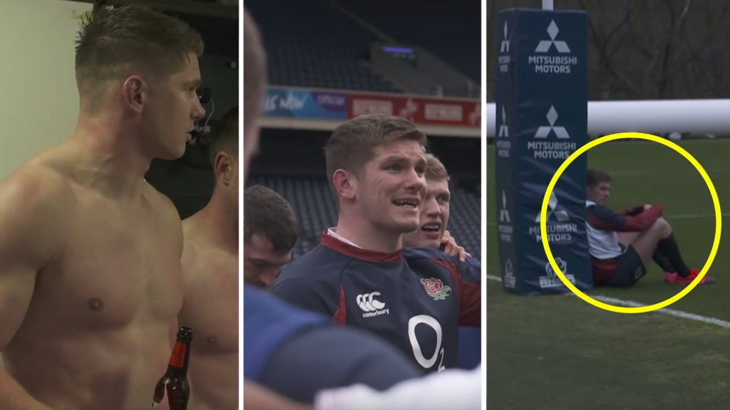 Owen Farrell's incredible leadership on display in behind the scenes footage before Scotland match