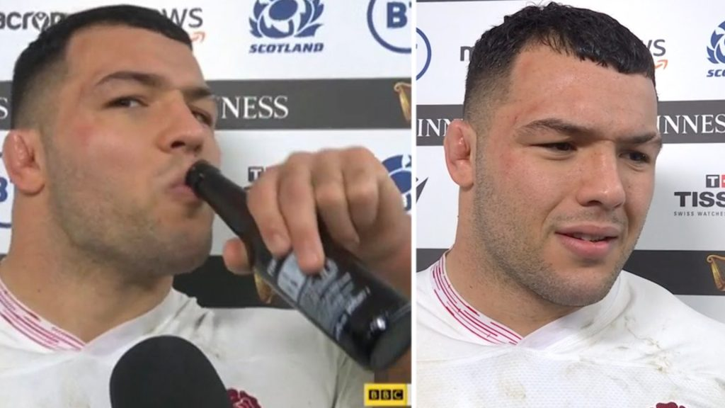 Ellis Genge gives one of the best post match interviews that we've seen