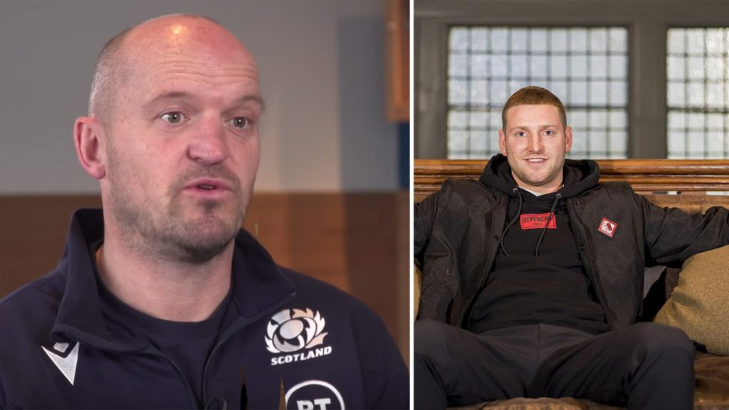 Gregor Townsend reveals all about Finn Russell drama in explosive announcement video