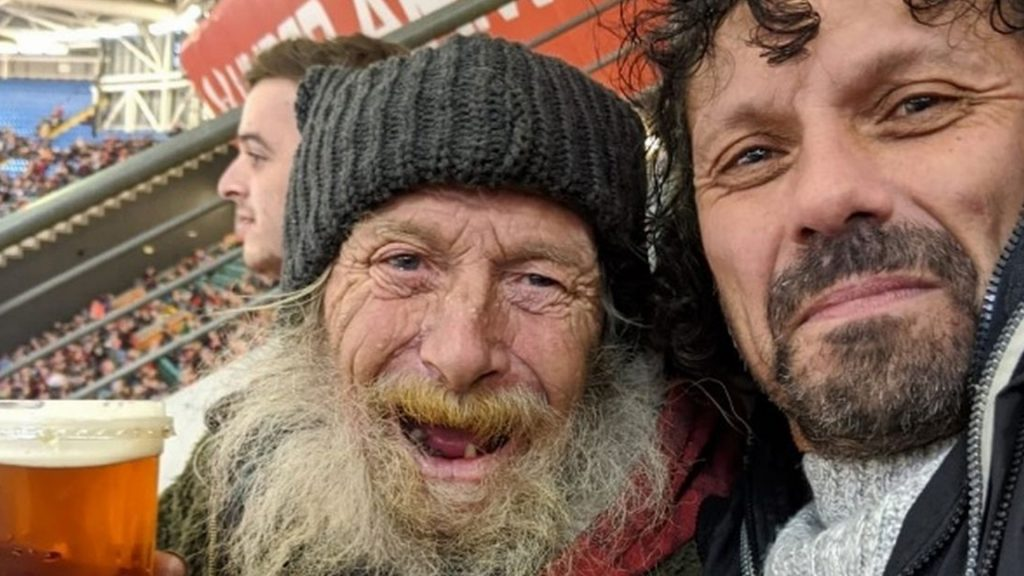 Welsh fan is going viral online after giving homeless man the best gift in rugby