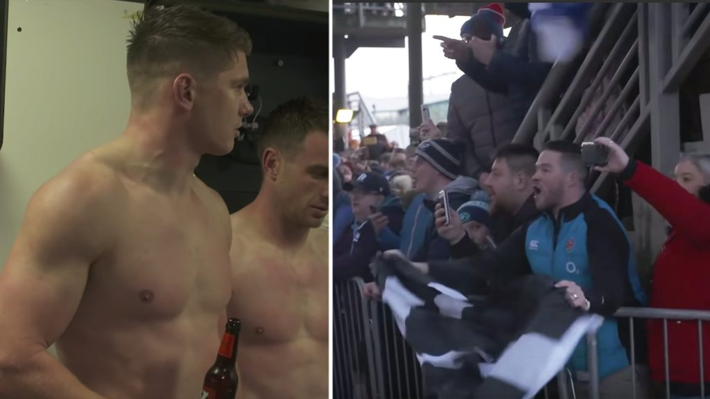 England reveal new footage displaying how hostile Scottish fans really were over the weekend