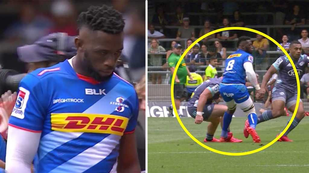 South Africa fans in uproar after cheap shot on Siya Kolisi could end his season