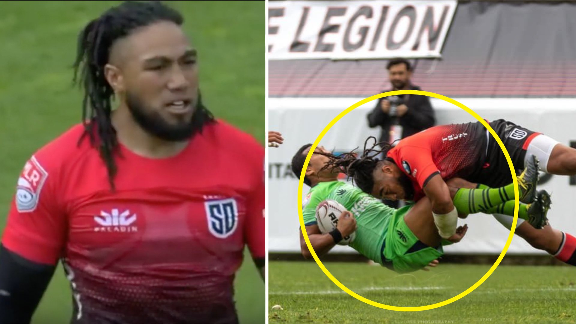 Legendary All Black Ma'a Nonu destroys everything in his Major League Rugby debut