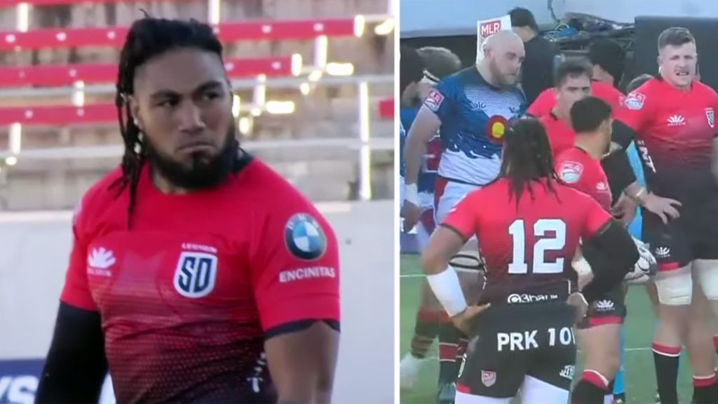 Ma'a Nonu makes his first big mistake in American rugby