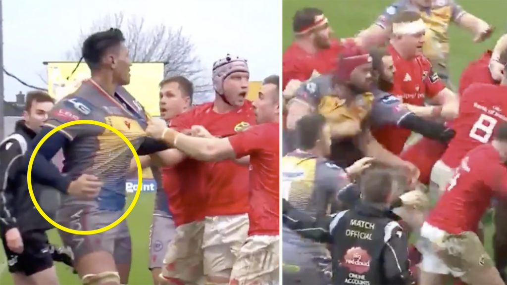 Rugby fans disgusted as player punches opposition twice in vicious attack