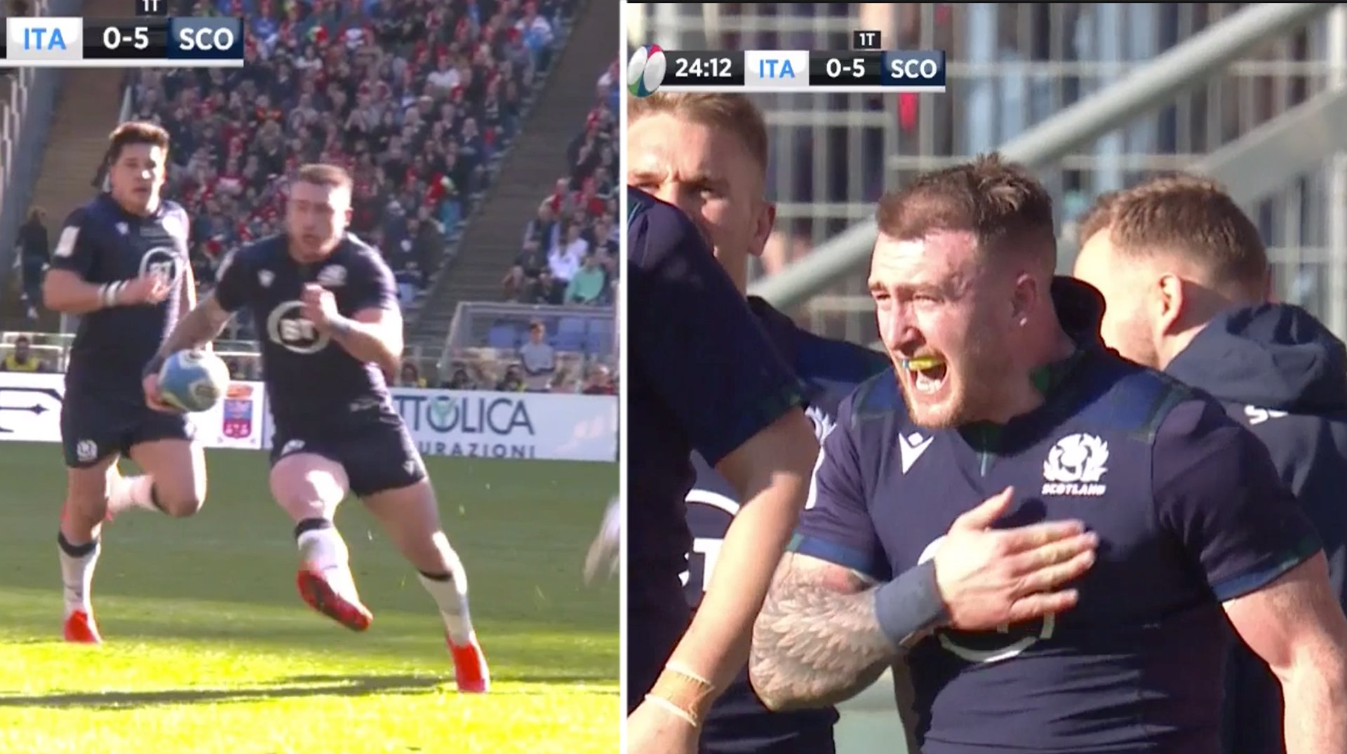 Stuart Hogg redeems himself for past Six Nations mistakes with ridiculous solo score