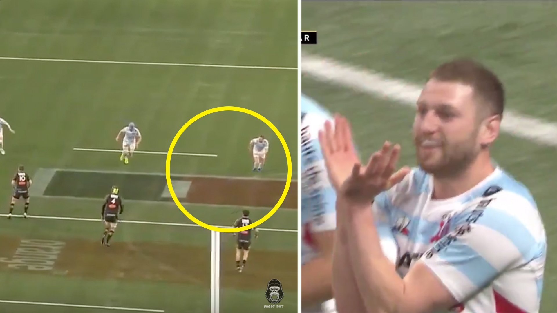 Finn Russell sends message to Gregor Townsend and Scotland as he scores classic try for Racing 92
