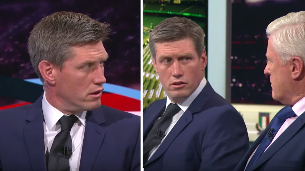 Ronan O'Gara schools pundit in heated debate over Ireland rugby