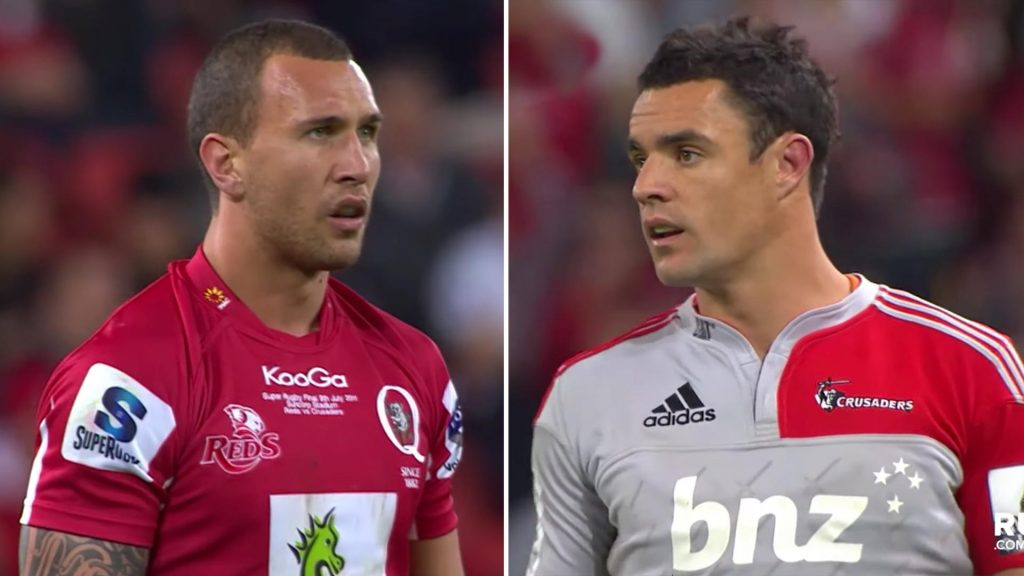 The time when Dan Carter and Quade Cooper played each other in their prime