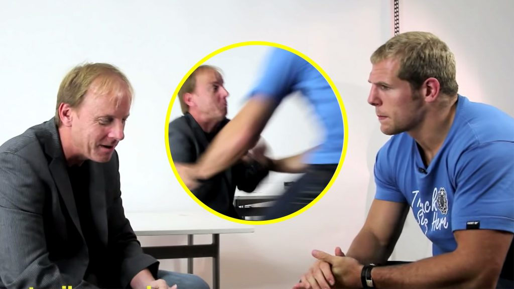 The Moment James Haskell Ruined A Reporter During A Live Interview