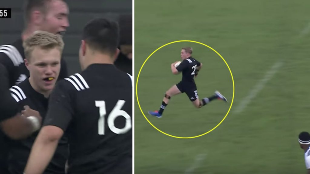 Youngster in New Zealand labelled the next Christian Cullen after this ridiculous solo run