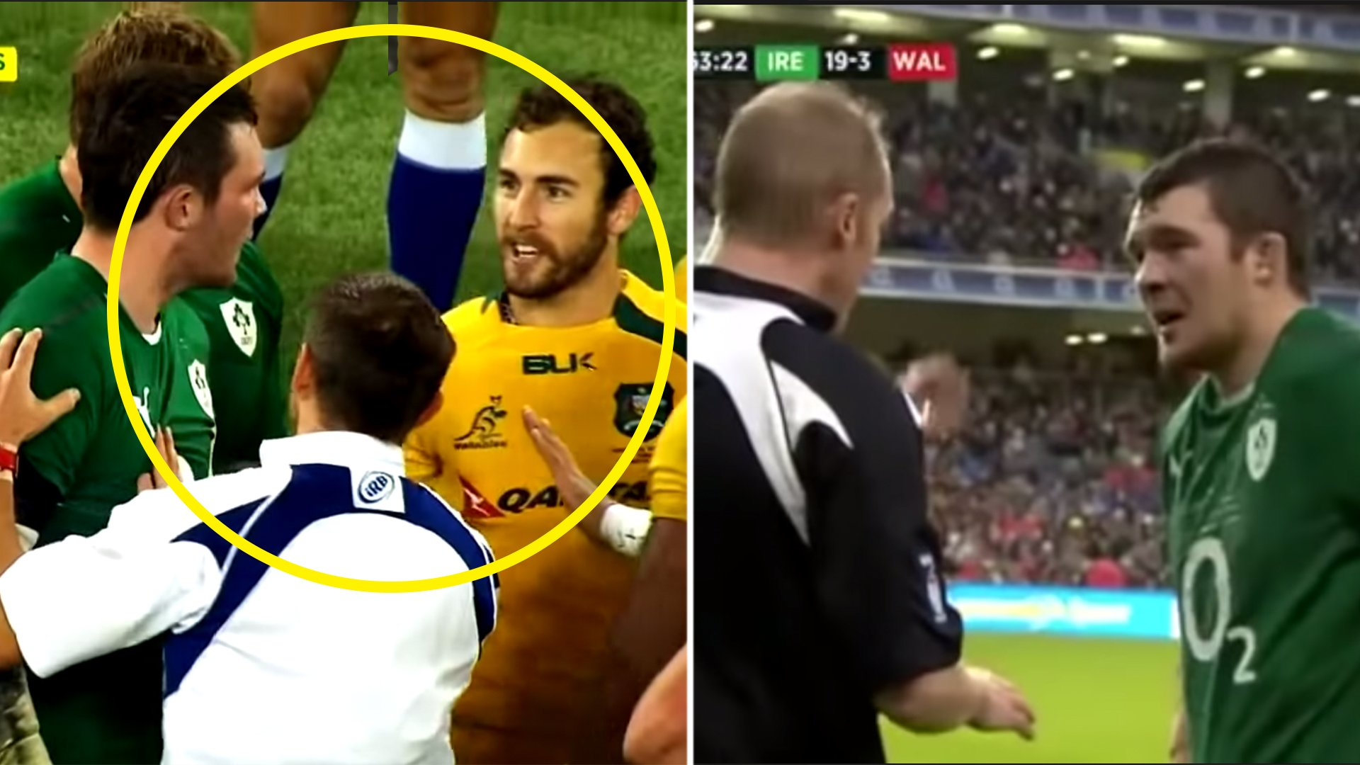 Irish rugby fans are furious after video tries to make Peter O'Mahony out as a thug