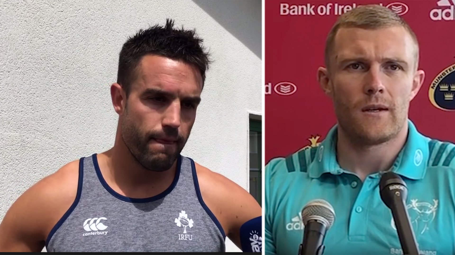 Irish rugby stars emotionally urge public to follow Government advice as crisis worsens