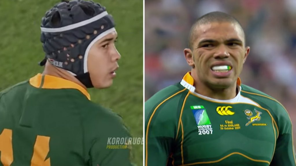 Video puts to bed the argument over who was better, Cheslin Kolbe or Bryan Habana