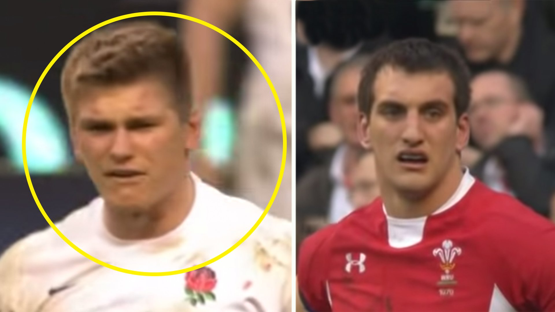 The last time Wales beat England at Twickenham and Sam Warburton made Owen Farrell cry