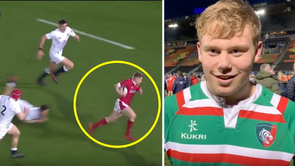 An incredible highlight reeled has dropped on teenage wonderkid that destroyed England last weekend